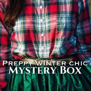 WINTER Preppy Chic MYSTERY BOX🎁🎄
